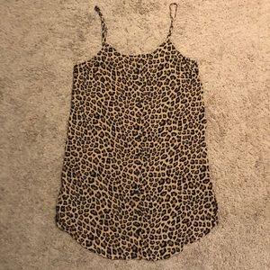 H&M Leopard slip dress